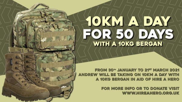 10km a day for 50 Days