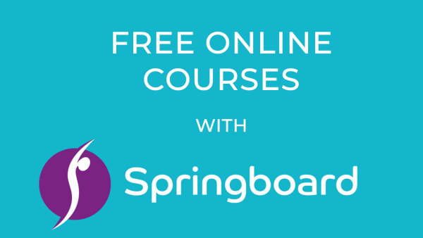 FREE Online Courses with Springboard