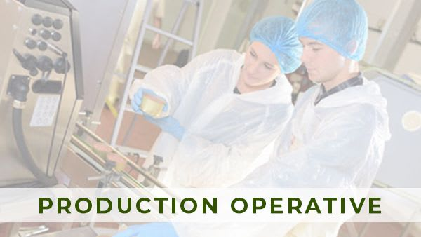 Production Operative / North Yorkshire / £315 pw